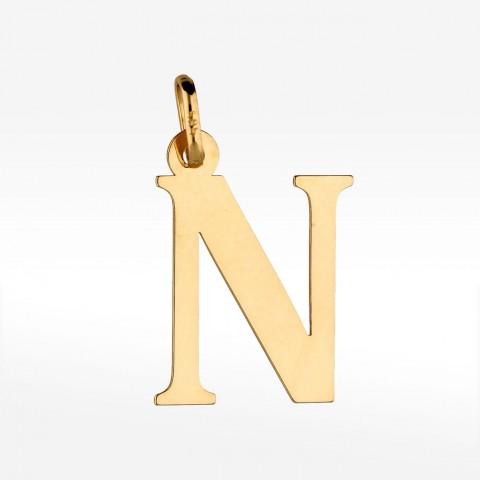 Złota literka N