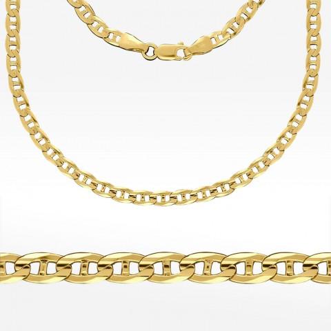 Złoty łańcuszek 55cm Pełny