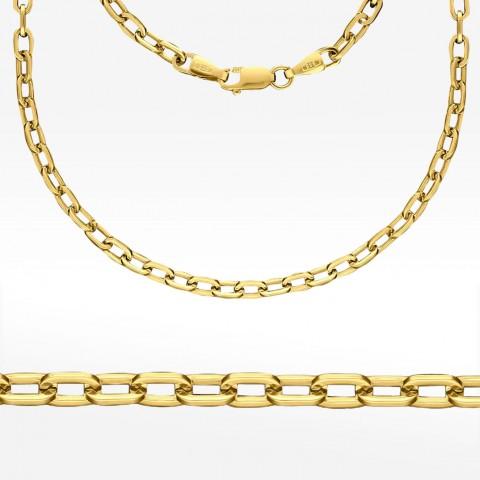 Złoty łańcuszek 45cm Ankier