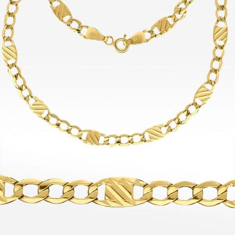 Złoty łańcuszek 55cm