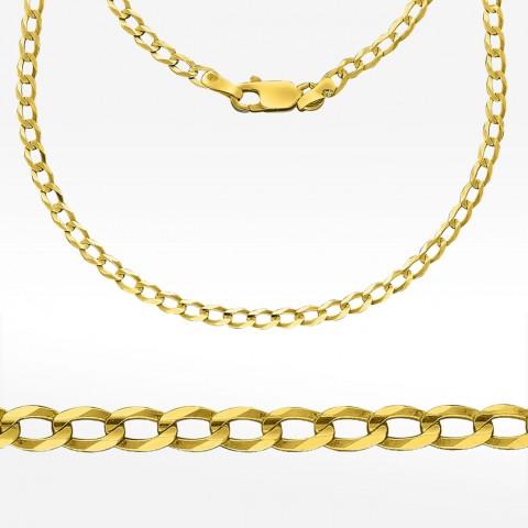 Złoty łańcuszek 50cm Pełny