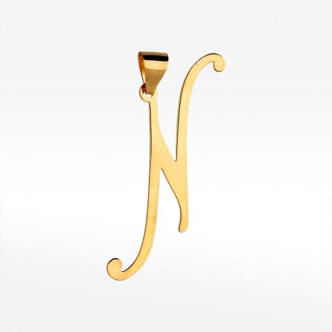 Złota litera N
