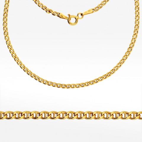 Złoty łańcuszek 45cm splot Gucci