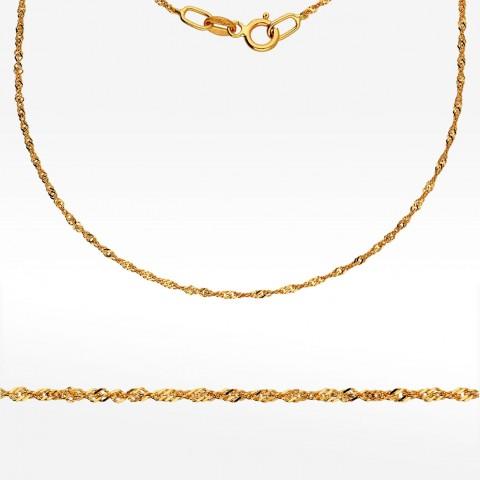 Łańcuszek ze złota 40cm