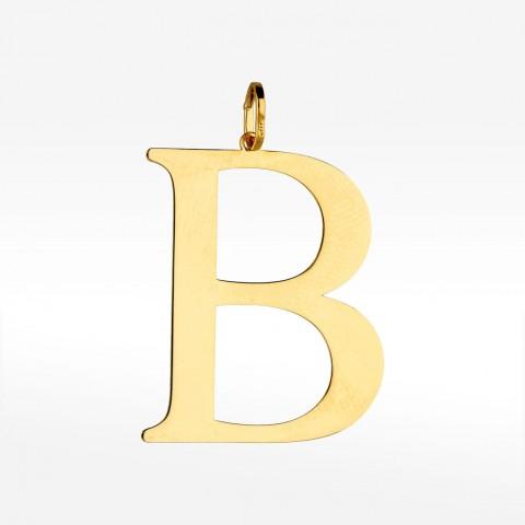 Zawieszka ze złota literka B