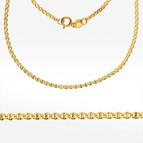 Złoty łańcuszek 55cm splot Gucci pełny