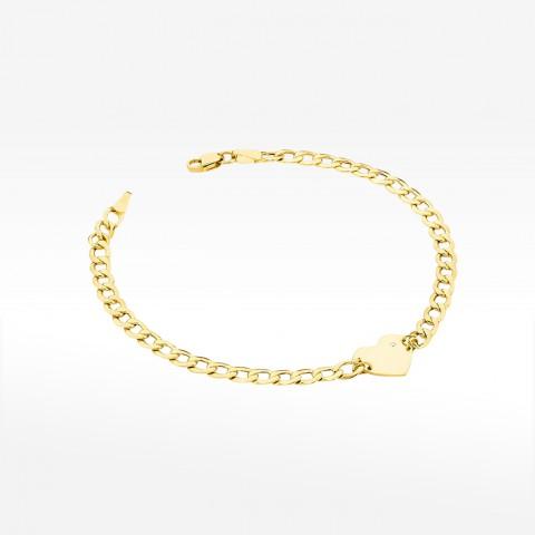 Bransoletka ze złota z brylantami