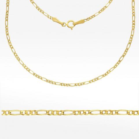 Łańcuszek ze złota 45cm splot Figaro