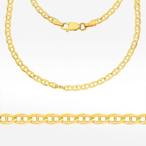 Łańcuszek ze złota 50cm splot Gucci pełny