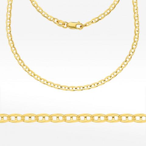 Łańcuszek ze złota 45cm splot Gucci pełny