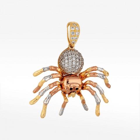 Zawieszka ze złota pająk