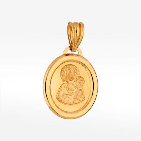 Zawieszka ze złota medalik