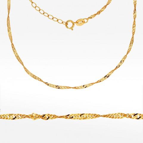 Łańcuszek ze złota 45-50cm Singapur
