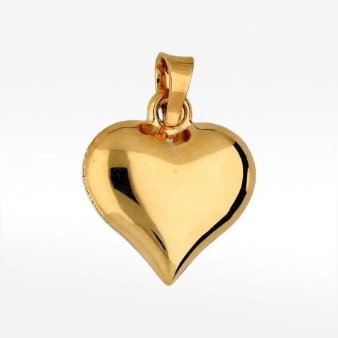 Zawieszka ze złota serce