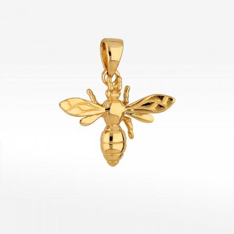 Zawieszka ze złota pszczoła